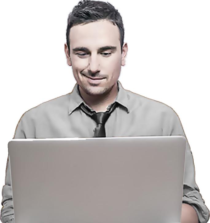 Guy-at-computer-smirk